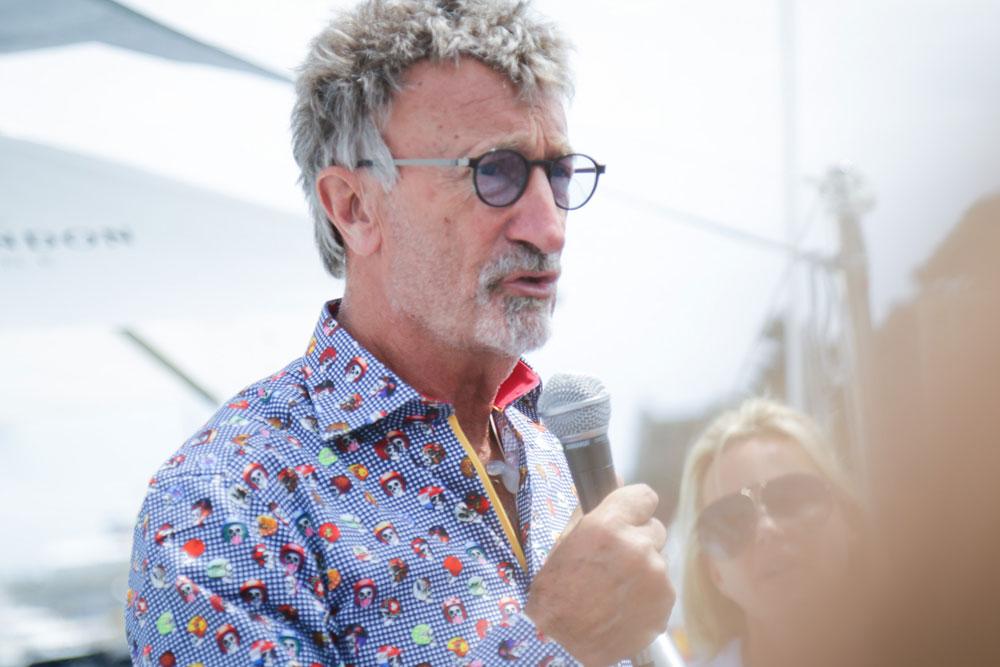 Eddie Jordan Monaco Grand Prix celebrity speaker